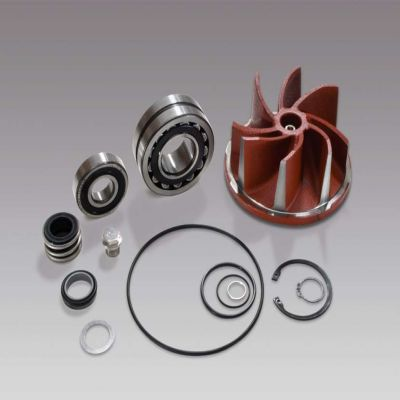 Spare parts for pump KSB