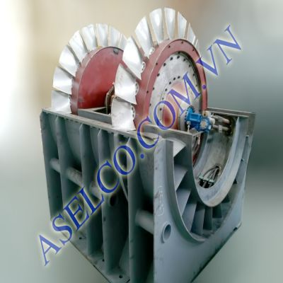 Adjustable blades axial flow PAF-TLT Turbo (Sichuan)