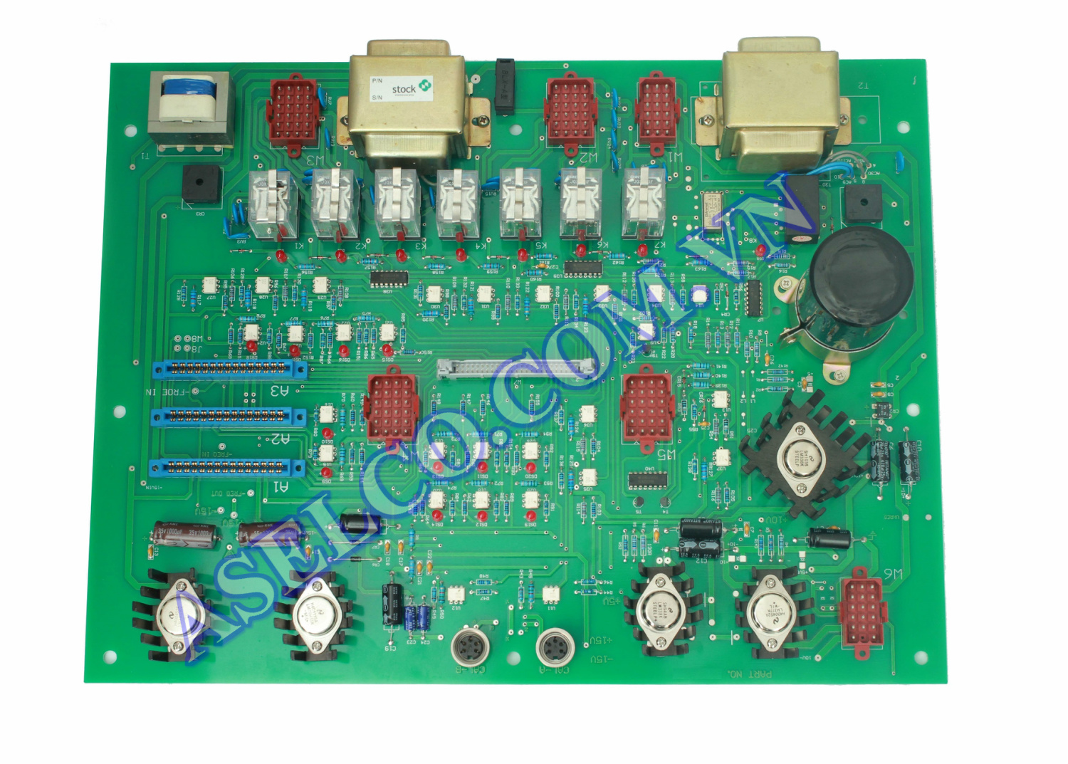 Bo cung cấp nguồn cho Mainboard hệ thống nạp than (Supply power Mainboard for Coal Feeder System)