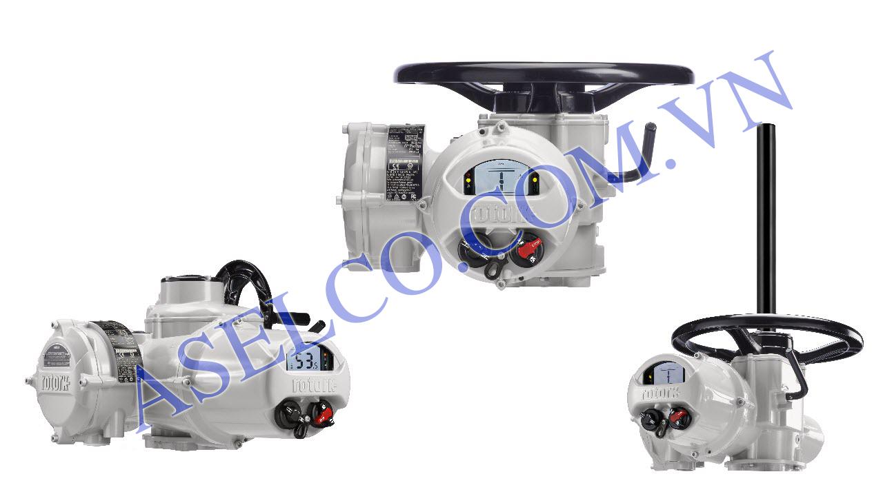Rotork Actuators cho van quạt