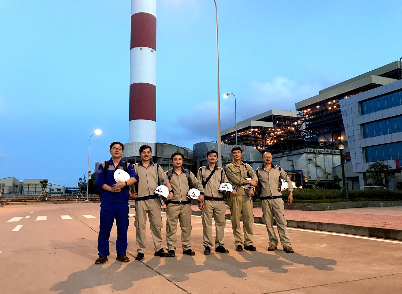 Dự án cung cấp dịch vụ chuyên gia hướng dẫn sửa chữa, phục hồi các loại quạt Nhà máy Nhiệt điện Vũng Áng tháng 1 năm 2019